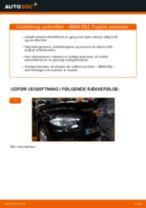 Udskift pollenfilter - BMW E82   Brugeranvisning