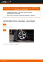 Vedligeholdelse BMW manualer pdf