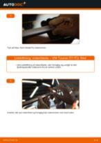 Udskift viskerblade bag - VW Touran 1T1 1T2 | Brugeranvisning