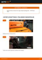 Udskift viskerblade bag - VW Passat 3C B6 Variant | Brugeranvisning
