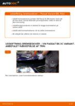 Udskift bremseskiver for - VW Passat 3C B6 Variant | Brugeranvisning