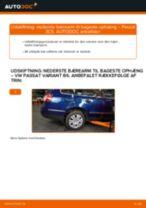 Udskift nederste bærearm til bageste ophæng - VW Passat 3C B6 Variant | Brugeranvisning