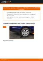 Udskift hjullejer bag - VW Passat 3C B6 Variant | Brugeranvisning