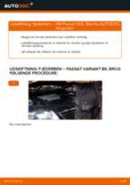 Udskift fjederben for - VW Passat 3C B6 Variant | Brugeranvisning