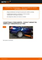 Udskift støddæmper bag - VW Passat 3C B6 Variant | Brugeranvisning