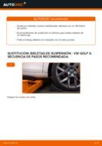 Cambiar Bieletas de Suspensión VW GOLF: manual de taller