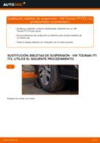 Cómo cambiar: bieletas de suspensión de la parte delantera - VW Touran 1T1 1T2   Guía de sustitución