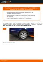 Aprender cómo solucionar el problema con Bieletas de Suspensión delantera y trasera VW