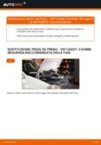 Come cambiare pinza de freno della parte posteriore su VW Caddy 3 Kombi - Guida alla sostituzione