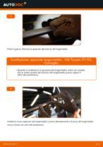 Cambio Spazzola tergivetro posteriore e anteriore VW da soli - manuale online pdf