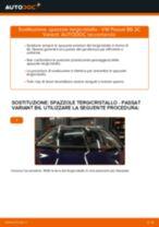 Come cambiare spazzole tergicristallo della parte anteriore su VW Passat 3C B6 Variant - Guida alla sostituzione