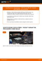Come cambiare è regolare Kit riparazione, Giunto di supporto / guida VW PASSAT: pdf tutorial