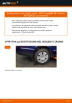 Come cambiare cuscinetto ruota della parte posteriore su VW Passat 3C B6 Variant - Guida alla sostituzione