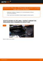 Impara a risolvere il problema con Filtro Aria VW