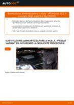 Come cambiare ammortizzatore a molla della parte anteriore su VW Passat 3C B6 Variant - Guida alla sostituzione