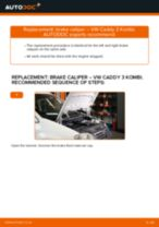 Step by step PDF-tutorial on Anti Roll Bar Bushes Opel Insignia A g09 replacement