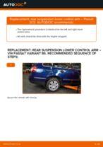 Replacing Anti roll bar bush kit VW PASSAT: free pdf