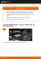 Bilmekanikers rekommendationer om att byta VW Passat B6 2.0 TDI 16V Bromsbelägg
