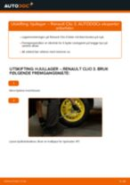 Trinn-for-trinn reperasjonshåndbøker Renault Clio 4