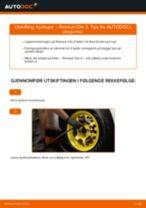 Slik bytter du hjullager fremme på en Renault Clio 3 – veiledning