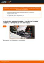 Skifte Hovedlys VW CADDY: gratis pdf