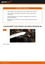 Hvordan bytte Kupefilter VW GOLF III (1H1) - guide online