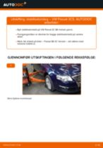 Skifte Stabilisatorstag VW PASSAT: verkstedhåndbok
