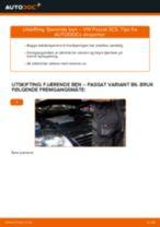 DIY-manual for utskifting av Baklykter i FORD TRANSIT Custom 2020
