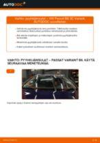 VW PASSAT vianetsintäohje