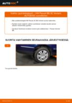 Korjaamokäsikirja tuotteelle Passat 3b2