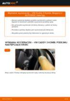 Poradnik online na temat tego, jak wymienić Szczęki hamulca postojowego w Audi A4 b6