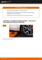 Jak wymienić łącznik stabilizatora przód w VW Golf 6 - poradnik naprawy