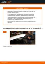 Jak wymienić Łożyskowanie, obudowa łożyska koła Mercedes Klasa A W176 - instrukcje online
