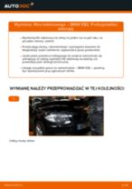 Zalecenia mechanika samochodowego dotyczącego tego, jak wymienić BMW BMW E82 123d 2.0 Amortyzator