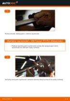 Wymiana Pióro wycieraczki VW TOURAN: instrukcja napraw