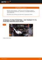 Jak wymienić filtr powietrza w VW Touran 1T1 1T2 - poradnik naprawy
