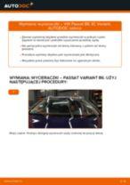 Samodzielna wymiana Wycieraczki szyby przednie i tylne VW - online instrukcje pdf
