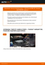 Jak wymienić tarcze hamulcowe tył w VW Passat 3C B6 Variant - poradnik naprawy
