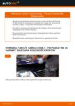 Jak wymienić tarcze hamulcowe przód w VW Passat 3C B6 Variant - poradnik naprawy