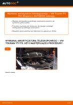 Jak wymienić amortyzator teleskopowy przód w VW Touran 1T1 1T2 - poradnik naprawy
