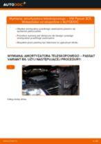 Poradnik online na temat tego, jak wymienić Amortyzatory w VW PASSAT Variant (3C5)
