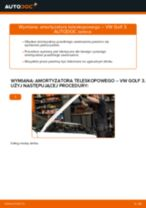 Jak wymienić Amortyzatory w VW GOLF III (1H1) - porady i wskazówki
