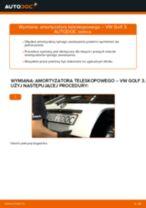 Jak wymienić amortyzator teleskopowy tył w VW Golf 3 - poradnik naprawy