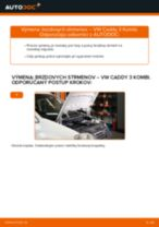 Online návod, ako svojpomocne vymeniť Ložisko tlmiča na aute CITROËN JUMPER Box (244)