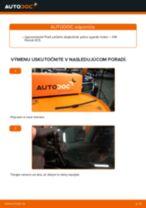 Ako vymeniť zadné stierače na VW Passat 3C B6 Variant – návod na výmenu