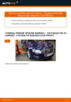 Vymeniť Rameno Zavesenia Kolies na aute VW PASSAT Variant (3C5) - tipy a triky