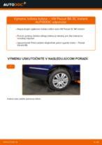 Výmena Lozisko kolesa VW PASSAT: dielenská príručka