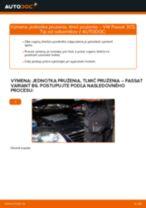 Naučte sa, ako vyriešiť problémy s predné Tlmič pruzenia VW