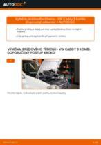Jak vyměnit Hlavni brzdovy valec FIAT udělej si sám - online návody pdf