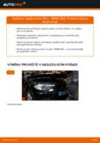 Doporučení od automechaniků k výměně BMW BMW 3 Touring (E46) 320i 2.2 Olejovy filtr